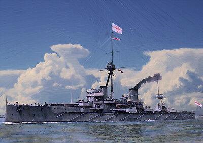 HMS DREADNOUGHT -  LIMITED EDITION ART (25)