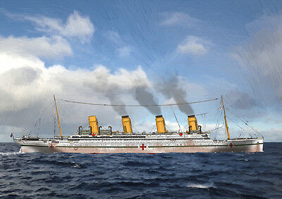 HMHS (RMS) BRITANNIC - HAND FINISHED, LIMITED EDITION (25)