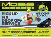 Mobile Phone/Pc/Tablet Laptop Repairs Mobis Phones Hanley. We also offer pick up & drop off service