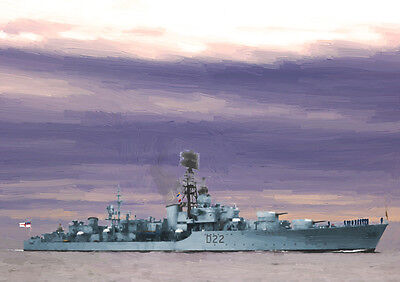 HMS AISNE - HAND FINISHED, LIMITED EDITION (25)