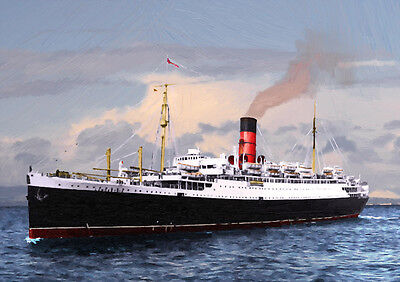 RMS LANCASTRIA - HAND FINISHED, LIMITED EDITION (25)