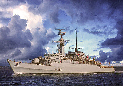 HMS ARDENT - HAND FINISHED, LIMITED EDITION (25)