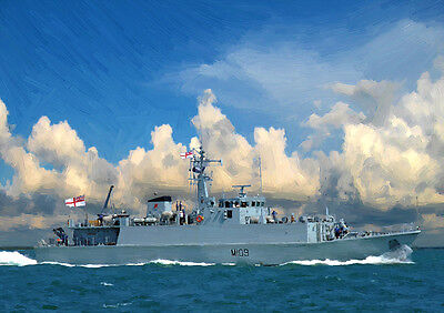 HMS BANGOR - HAND FINISHED, LIMITED EDITION (25)