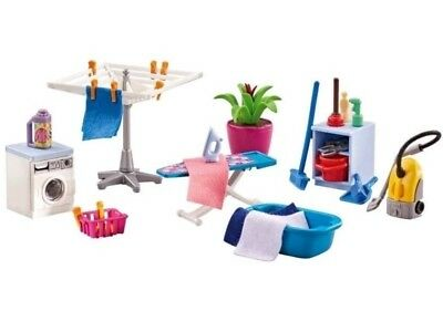 Playmobil Hauswirtschaftsraum 6557 Neu & OVP Staubsauger Waschmaschine