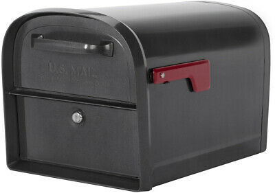 USPS Approved Locking Mailbox Best Residential Mailboxes Insert for Packages (Large Residential Mailboxes)