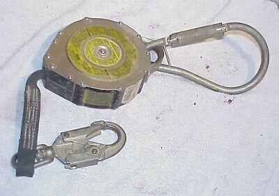 Msa 506615 Dyna-lock Self-retracting Lanyard 15 Ft Nylon Web 36cs Steel Swivel