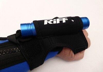 RIFF Handschlaufe für TL-MINI Tauchlampe uvm. Tauchlampen (black) NEU !!!