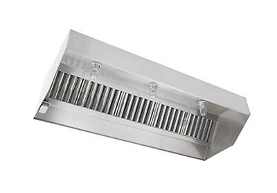 6ft Nd2 Series Stainless Steel Type I Etl Listed Grease Hood