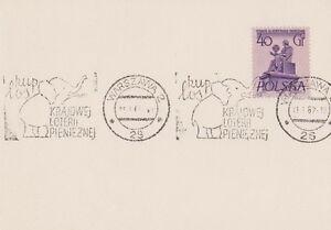 Poland postmark WARSZAWA - elephant lottery (SLANIA) - <span itemprop=availableAtOrFrom>Bystra Slaska, Polska</span> - Poland postmark WARSZAWA - elephant lottery (SLANIA) - Bystra Slaska, Polska