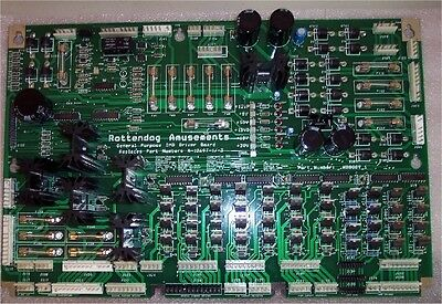 Brand New WDB089 Driver Board for Bally/Williams WPC89 & WPC-S pinball machines