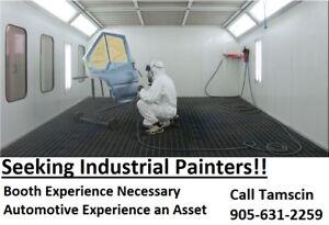 Industrial Painters Wanted! – Burlington