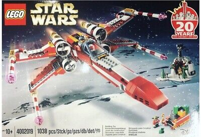 LEGO 4002019 Employee Christmas Gift 2019 STAR WARS X-Wing 20th Anniversary RARE