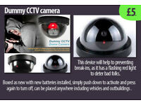 CCTV camera dummy - cheap alternative to the real thing £6