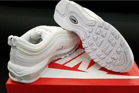 2018 Nike air max 97 triple white 7