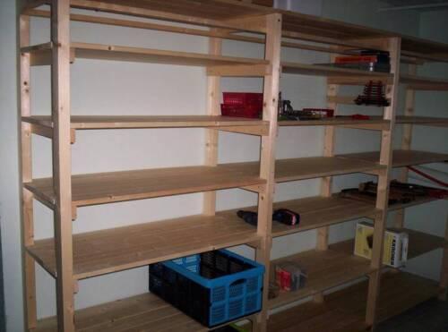 bauanleitung regal regalwand werkzeugregal kellerregal. Black Bedroom Furniture Sets. Home Design Ideas