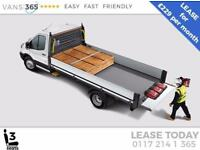 Ford Transit LEASE DEAL NEW 130 PS L4 EX LWB 'ONE STOP' ALLOY DROPSIDE DRW £