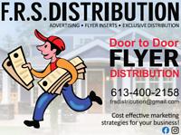 Flyer distribution services