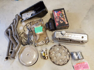 BBC Intake, headers, Oil Pan other parts