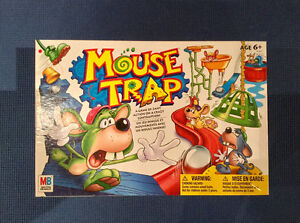 Jeu Game Over et Mousetrap