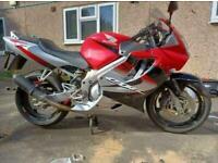 Honda CBR 600 fuel injected