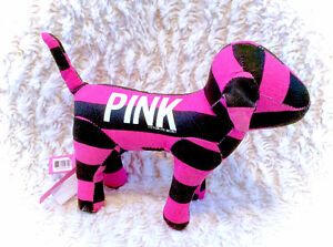 PINK by Victoria's Secret Black Pink Plush Dog Collectable