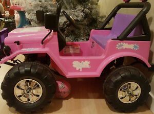 TOY JEEP, MOTORCYCLE and CAR