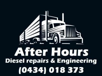 After hours diesel repairs and engineering