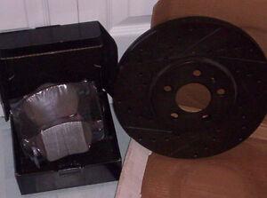plaquette de frein et disque