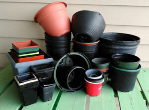 Grab-Bag over 50 Flower Pots