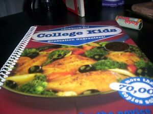 cookbook for COLLEGE KIDS(NEW)