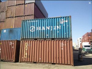 20' USED Shipping Container/Seacans for SALE