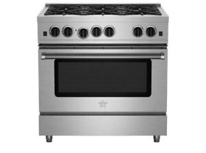 "https://aniks.ca/ BlueStar RPB366BV2 Pro Series 36"" Gas Range with 6 OPEN BURNERs. Best Price Offers In-Store Only."