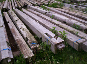 Salvaged Hand Hewn Beams and Boards
