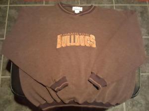 Hamilton Bulldogs sweatshirt youth medium