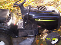 Poulon Riding Lawnmower