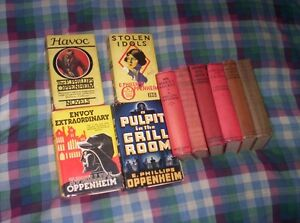 E. Phillips Oppenheim Vintage Hard Covers