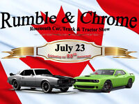 Rumble & Chrome on 45 Show & Shine