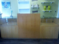 Display and cash counter for sale - must go