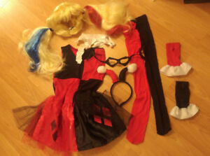 Harley Quinn Costume - Size Medium (7/8)