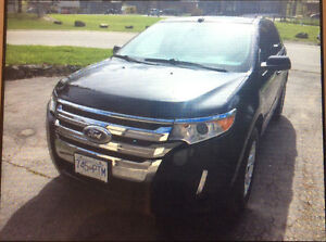 2013 Ford Edge Black SUV, Crossover