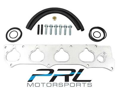 PRL RBC Intake Manifold Adapter Flange for 12-15 Honda Civic Si 13-15 Acura ILX