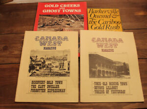 Bill Barlee - Set of Ghost Towns and Mining Books