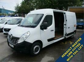 2016 16 RENAULT MASTER 2.3 LM35 BUSINESS DCI LONG WHEEL BASE S/H/R P/V 125 BHP W