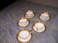 Aynsley Cup & Saucers