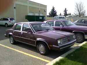 Wanted 1984 oldsmobile omega sedan!!!
