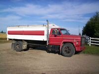 1981 Ford Diesel 3 ton grain truck