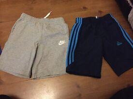 2 pairs shorts nike & adidas