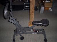 Healthware ExerGlide Fitness Machine gym equipment