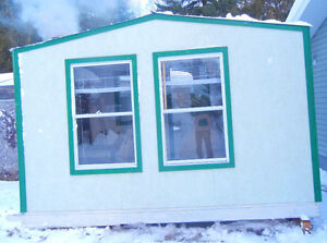 New 8X12 fish shack insulated with furniture etc... $1,200.00