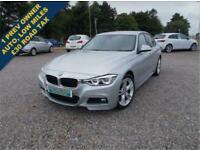 2017 66 BMW 3 SERIES 2.0 318D M SPORT 4D 148 BHP DIESEL